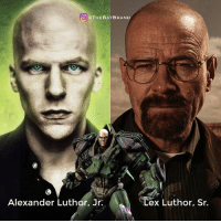 "PLEASE READ: Imagine a scene within the movie or post credits, where Jesse Eisenberg is back in prison again from yet another failed attempt to stop Batman or Superman. He has his head slammed against the wall and hears one word, ""son"". He turns around and sees his father Lex Luthor Sr. played by Bryan Cranston. Lex Sr. informs his son he has faked his death to test him and that he will take over for now. Lex Sr. Just turns around and the theme song hits. (Obviously there can be more dialogue but just wanted to keep this caption as short as possible). What are your thoughts? - Left image by CAMW1N on DeviantArt!: THE BAT BRAND  Alexander Luthor, Jr.  ex Luthor, Sr. PLEASE READ: Imagine a scene within the movie or post credits, where Jesse Eisenberg is back in prison again from yet another failed attempt to stop Batman or Superman. He has his head slammed against the wall and hears one word, ""son"". He turns around and sees his father Lex Luthor Sr. played by Bryan Cranston. Lex Sr. informs his son he has faked his death to test him and that he will take over for now. Lex Sr. Just turns around and the theme song hits. (Obviously there can be more dialogue but just wanted to keep this caption as short as possible). What are your thoughts? - Left image by CAMW1N on DeviantArt!"