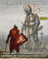 Happy Grunwald day!: THE BATTLE OF GRUNWALD  FB/POLEMICAL  POLISH MEMES  POLES AND LITHUANIANS PUTTING  GERMANS IN THEIR PLACE SINCE 1410 Happy Grunwald day!
