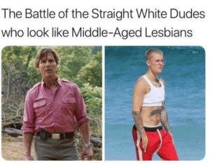 It's Pat vs. Jan: Rumble in the Flannel!: The Battle of the Straight White Dudes  who look like Middle-Aged Lesbians It's Pat vs. Jan: Rumble in the Flannel!