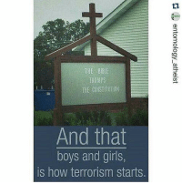 Memes, Constitution, and Terrorism: THE BBL  TRUMPS  THE CONSTITUTION  And that  boys and girls,  is how terrorism starts