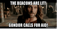 Beacons Are Lit