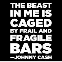 Memes, Johnny Cash, and 🤖: THE BEAST  IN ME IS  CAGED  BY FRAIL AND  FRAGILE  BARS  JOHNNY CASH 💀 Keep poking at it and see what happens 👊🏽💀👍🏽 UncleSamsMisguidedChildren 💀 Check out our store. Link in bio. 💀 LIKE our Facebook page 💀 Subscribe to our YouTube Channel 💀 Visit our website for more News and Information. 💀 www.UncleSamsMisguidedChildren.com 💀 Tag and Join our Misguided Family @unclesamsmisguidedchildren Use code USMCNATION10 for 10% off MisguidedLife MisguidedNation USMCNation PewPewLife 2A Military MolonLabe tactical veteran milo Veterans AirForce Gun Ammo USMC 0311 Army Navy K9 Infantry Grunt Guns Police Operator ArmyStrong trump 11B CoastGuard usa