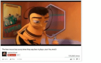 https://www.facebook.com/photo.php?fbid=10207668470702097&set=gm.1607077909601210&type=3&theater: The bee movie but every time they say bee it plays Just You And I  Avoid at All Costs  Subscribe 28997  Add to share More  105,444 views  2,700  9 39 https://www.facebook.com/photo.php?fbid=10207668470702097&set=gm.1607077909601210&type=3&theater