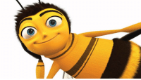 the bee movie script but every time they say the word bee it changes to a different language