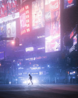 This photo of Toronto looks like a scene from Blade Runner: The Beer Stor  RS  #NDAS  EAST This photo of Toronto looks like a scene from Blade Runner