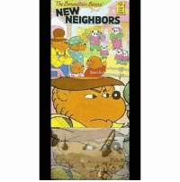 Memes, Stan, and Bears: The Berenstain 5  ARST  TME  NEW  NEIGHBORS  0  Stan & Back in my day it was berstein bears