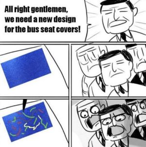 The best bus seat pattern.: The best bus seat pattern.