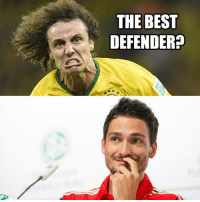 Football Memes  [ Credit to Adrian Glock ]: THE BEST  DEFENDER Football Memes  [ Credit to Adrian Glock ]