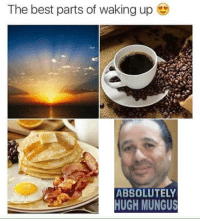 Best, Hugh Mungus, and The Best: The best parts of waking up  ABSOLUTELY  HUGH MUNGUS https://t.co/cpd8o8Z7o8
