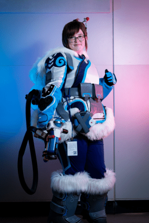 The best picture I have of my Mei (Overwatch) cosplay!: The best picture I have of my Mei (Overwatch) cosplay!