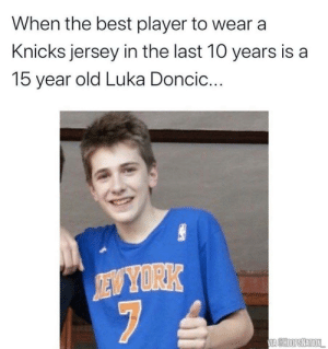The best player to wear a Knicks jersey in the past 10 years 😂 https://t.co/POiJnUDFAO: The best player to wear a Knicks jersey in the past 10 years 😂 https://t.co/POiJnUDFAO