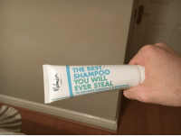 9gag, Dank, and Funny: THE BEST/  SHAMPOO  YOU WILL  EVER STEAL  FIG AND OLIVE S Hotels' shampoos are getting smarter. https://9gag.com/gag/aExdW0n/sc/funny?ref=fbsc