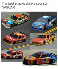 Nascar, Best, and The Best: The best snacks always sponsor  NASCAR