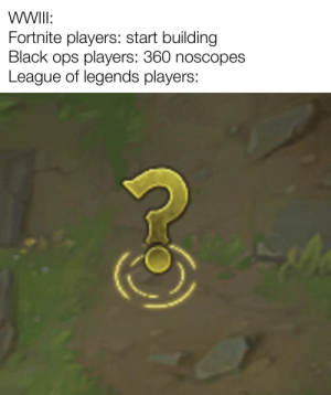 The best tactic in league: question mark: The best tactic in league: question mark