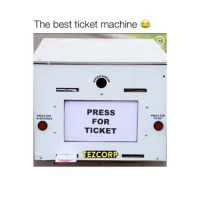 Friends, Love, and Memes: The best ticket machine  PRESS  FOR  TICKET  PRESS FOR  ASSISTANCE  PRESS FOR  TICKET  TE CORP - Haha love this Follow @Crelube for more videos ___________ Tag your friends Follow @Crelube 😍 Follow @Crelube ❤ Follow @Crelube 👌🏽 Follow @Crelube 🔥 Crelube