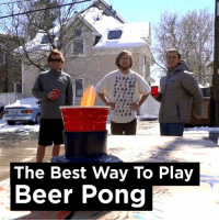 Beer, Dank, and Ups: The Best Way To Play  Beer Pong Step up your beer pong game...