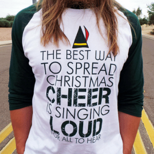 loveulikeafatkidluvcake:  Sooo IN Love with this shirt!!! OMGGG is it Christmas Yet??21.99  : THE BEST WAY  TO SPREAD  CHRISTMAS  CHEER  S SINGING  FOR  ALL TO HEAK loveulikeafatkidluvcake:  Sooo IN Love with this shirt!!! OMGGG is it Christmas Yet??21.99