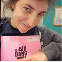 Mayim creeping all over her brand new SEASON 11 script! We would too😂 . 👀 . tbbt thebigbangtheorycast @therealjimparsons kaleycuoco @normancook sheldoncooper johnnygalecki @sanctionedjohnnygalecki bigbangtheorytime bigbangtheory trio cbs bigbang shamy penny sheldon raj thebigbangtheory: the BiG  BANG  THENRV Mayim creeping all over her brand new SEASON 11 script! We would too😂 . 👀 . tbbt thebigbangtheorycast @therealjimparsons kaleycuoco @normancook sheldoncooper johnnygalecki @sanctionedjohnnygalecki bigbangtheorytime bigbangtheory trio cbs bigbang shamy penny sheldon raj thebigbangtheory