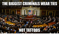 Tattoos, Imgur, and Tattoo: THE BIGGEST CRIMINALS WEARTIES  NOT TATTOOS Front page on Imgur...