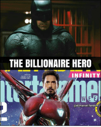 Batman, Memes, and Superman: THE BILLIONAIRE HERO  MARCH  16/23, 2018  #1506/1507  INFINITY  @dcmarvel fandom Swipe>> DC or Marvel? By @dcmarvel.fandom Blackpanther Mcu Marvel dc dccomics dceu dcu dcrebirth dcnation dcextendeduniverse batman superman manofsteel thedarkknight wonderwoman justiceleague cyborg aquaman martianmanhunter greenlantern theflash