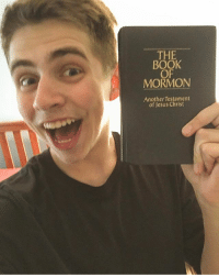 THE  BOOK  OF  MORMON  Another Testament  of Jesus Christ The church is true The book is blue And God loves you