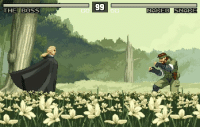 If Snake Eater were a 2D fighting game  Source: tom2dforever.tumblr.com  ~F1NG3RS: THE BOSS  MAKED SNAKE  HAKEO SNARE If Snake Eater were a 2D fighting game  Source: tom2dforever.tumblr.com  ~F1NG3RS