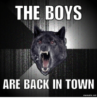 Cubs win...solidly!: THE BOYS  ARE BACK IN TOWN  mematic.net Cubs win...solidly!