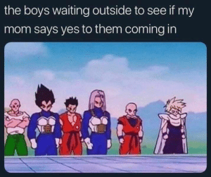 The boyzz via /r/memes http://bit.ly/2ZpKUXR: the boys waiting outside to see if my  mom says yes to them coming in The boyzz via /r/memes http://bit.ly/2ZpKUXR