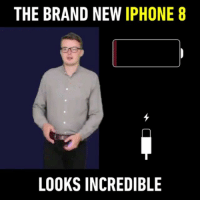9gag, Anaconda, and Apple: THE BRAND NEW IPHONE 8  LOOKS INCREDIBLE You'll still buy it tho. 📱 Follow @9gag Send your funny videos to 9GAGFunOff contest to win $100,000 USD (link in bio) - 📹@alexhobern - - 9gag apple iphone8