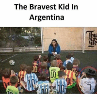 Brave kid 😂😂 🔺FREE FOOTBALL EMOJI'S --> LINK IN OUR BIO!: The Bravest Kid In  Argentina  NESSI  MESSI  RONALDO Brave kid 😂😂 🔺FREE FOOTBALL EMOJI'S --> LINK IN OUR BIO!