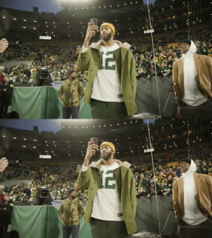 The Brow at Lambeau.  Anthony Davis repping his @Packers for the #NFLPlayoffs! @AntDavis23 #GoPackGo https://t.co/zyXwYVzNXs: The Brow at Lambeau.  Anthony Davis repping his @Packers for the #NFLPlayoffs! @AntDavis23 #GoPackGo https://t.co/zyXwYVzNXs