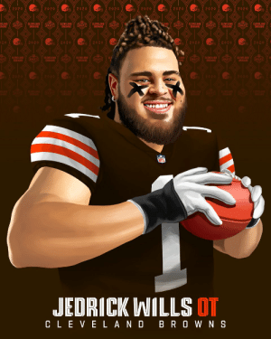 The @Browns' new Left Tackle: @AlabamaFTBL OL Jedrick Wills! @JWills73   #NFLDraft https://t.co/eMJiyb7xBg: The @Browns' new Left Tackle: @AlabamaFTBL OL Jedrick Wills! @JWills73   #NFLDraft https://t.co/eMJiyb7xBg