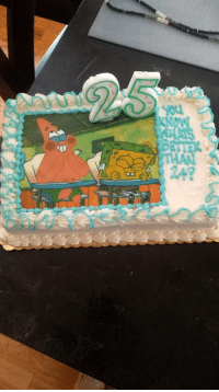 The cake my girlfriend got me for my 25th birthday: The cake my girlfriend got me for my 25th birthday