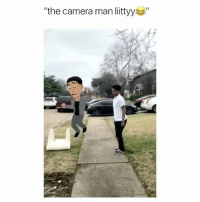 Wow, Camera, and Girl Memes: the camera man littyy the end is so perfect like wow
