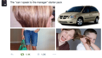 "Can I Speak To The Manager: The ""can I speak to the manager"" start  er pack  1.1K  1.3K"
