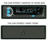 Car stereo: THE CAR STEREO I WANTED 10 YEARS AGO  VRCD220FD  CO- CO-RAW. MP3  VMMR ROSRECEIVER  ADM 10 UP 10  FIPS BAND  THE CAR STEREO WANT TODAY  AUX Car stereo