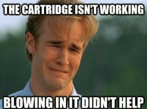 Meme, Memes, and Help: THE CARTRIDGE ISNTWORKING  BLOWING IN ITDIDN'T HELP 90's CHILDHOOD MEMES | Clean Meme Central