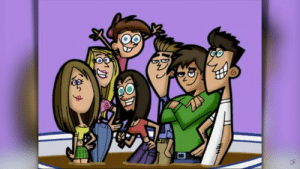 The cast drawn in The Fairly Oddparents style: The cast drawn in The Fairly Oddparents style