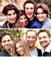 Memes, Boy Meets World, and 🤖: The cast of Boy Meets World (1993-2000) and the cast of Girl Meets World (2014-)