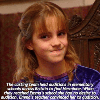 Memes, 🤖, and Hogwarts: The casting team held auditions in elementary  schools across Britain to find Hermione. When  they reached Emma's school she had no desire to  audition. Emma's teacher convinced her to audition. What is your favourite school subject? - I'd have to say maths or science (: - beautyandthebeast fantasticbeastsandwheretofindthem fantasticbeasts hermionegranger harrypotter harrypotterfacts emmawatson cursedchild ronweasley hogwarts