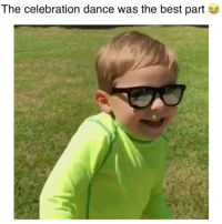 Memes, Best, and Dance: The celebration dance was the best part Drilled it! (sound up) 😂 Credit: @korbin_jackson