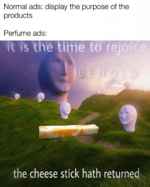 The cheese stick has spoken. #Memes #Dank #Entertainment #Perfume: The cheese stick has spoken. #Memes #Dank #Entertainment #Perfume