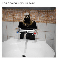 Choose wisely...: The choice is yours, Neo Choose wisely...