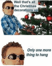 the Christmas  decorations up  Only one more  thing to hang 😂😂 (@tripmeme) • • • Memes meme funny instadaily basketball football london instagram instagood newyork dank 420 weed s4s lol lmao