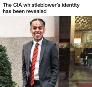 C A S E C L O S E D: The CIA whistleblower's identity  has been revealed C A S E C L O S E D