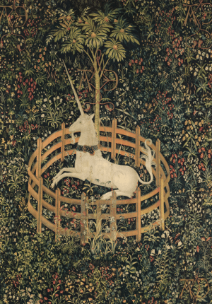 Tumblr, Blog, and Http: the-cinder-fields: The Unicorn in Captivity (from the Unicorn Tapestries) c 1495–1505