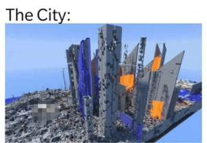 """Superheroes: """"We saved the city!"""" The City:: The City: Superheroes: """"We saved the city!"""" The City:"""
