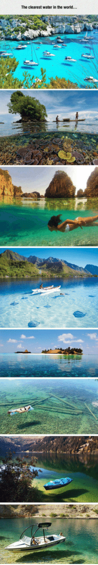 Best, Water, and World: The clearest water in the world... <p>Crystal Clear Water At Its Best.</p>