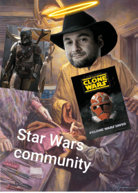 """""""I am one with the Filoni, and the Filoni is with me"""": THE  CLONE  Star Wars  community  #CLONE WARS SAVED """"I am one with the Filoni, and the Filoni is with me"""""""