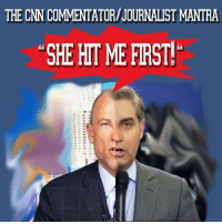 cnn.com, Saw, and Twitter: THE CNN COMMENTATOR/JOURNALIST MANTRA  SHE HITME FIRST